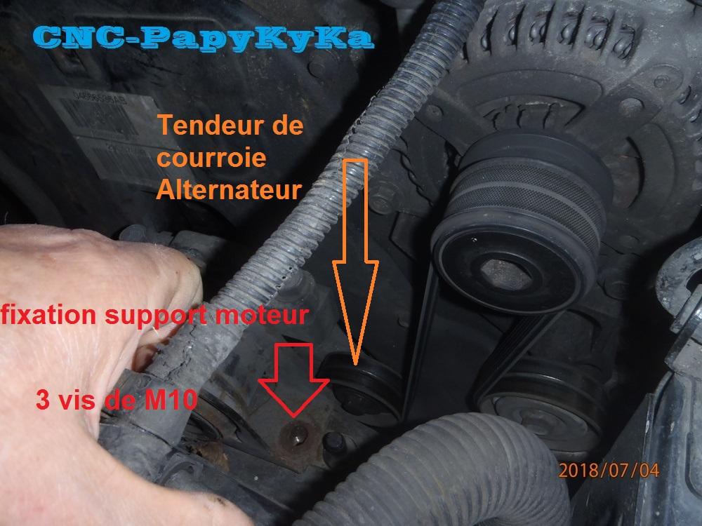 PapyKy remplace les courroies distribution & accésoires. P7040117
