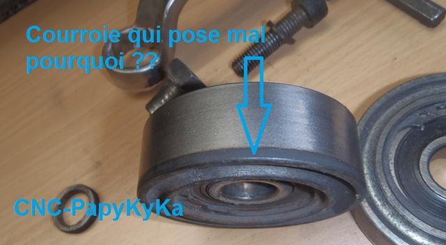 Roulement galet tendeur P8090010