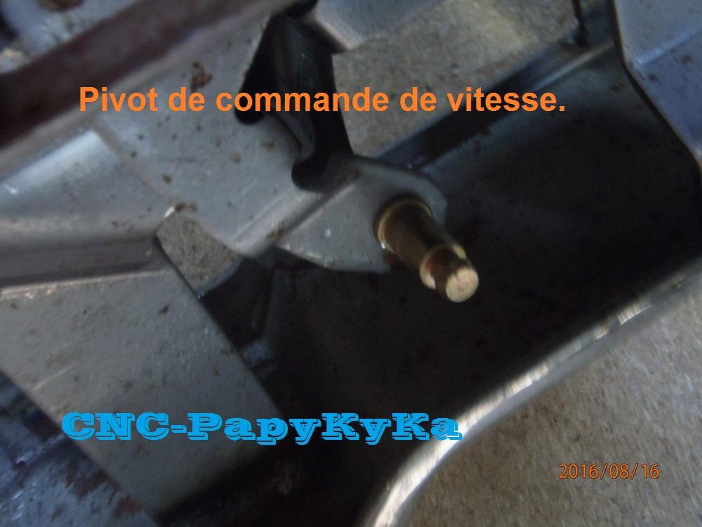Demontage console levier de vitesses P8160011
