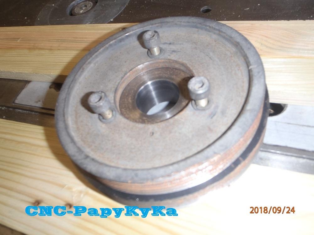 Recherche poulie damper s2 td P9240416
