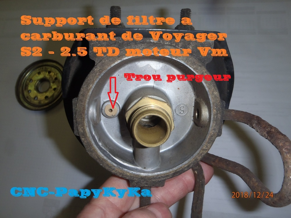 PapyKy a démonter un filtre a carburant diesel S2 Pc240411