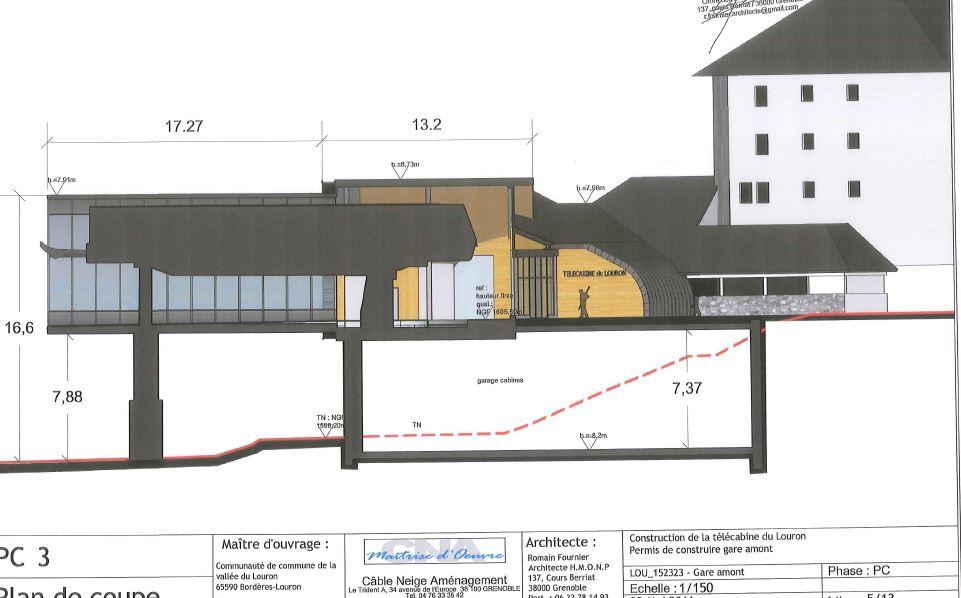 Construction Télécabine débrayable 10 places (TCD10) Peyragudes - Loudenvielle - Page 2 Captur12