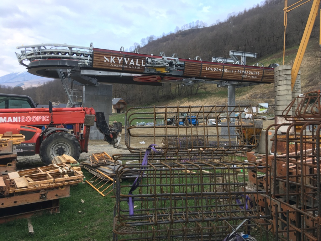 Construction Télécabine débrayable 10 places (TCD10) Peyragudes - Loudenvielle Img_0722