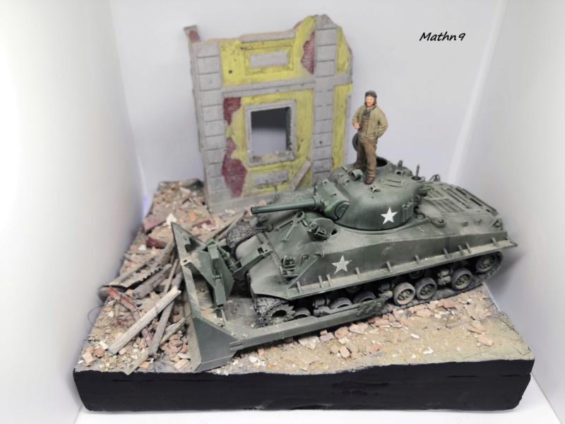 Sherman M4A3 with Dozer [Academy 1/35] Img_2068