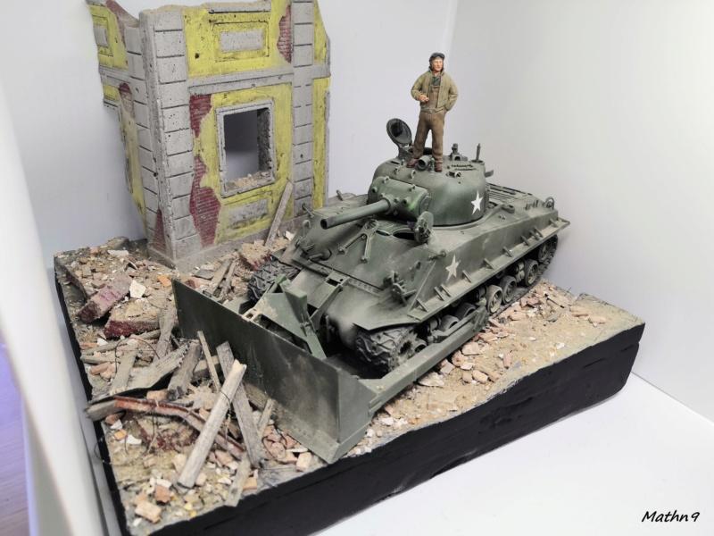 Sherman M4A3 with Dozer [Academy 1/35] Img_2070