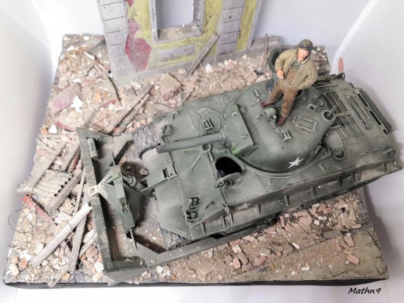 Sherman M4A3 with Dozer [Academy 1/35] Img_2071