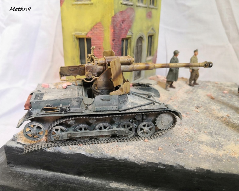 Panzerjäger I Ausf B [Dragon 1/35] + Maison R2 + Figurines Stalingrad Mantis Img_2105