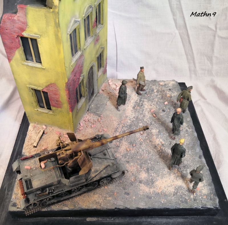 Panzerjäger I Ausf B [Dragon 1/35] + Maison R2 + Figurines Stalingrad Mantis Img_2107