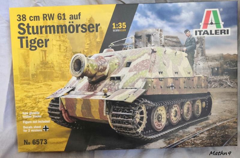 Sturmmörser Tiger [Italeri 1/35] à l'eau Img_2108