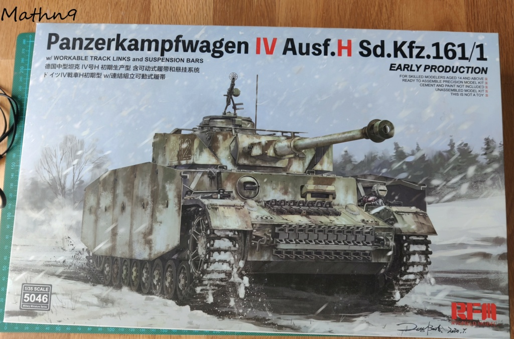 Panzer IV Ausf H + Figurine Mk35[1/35 RFM] Img_2166