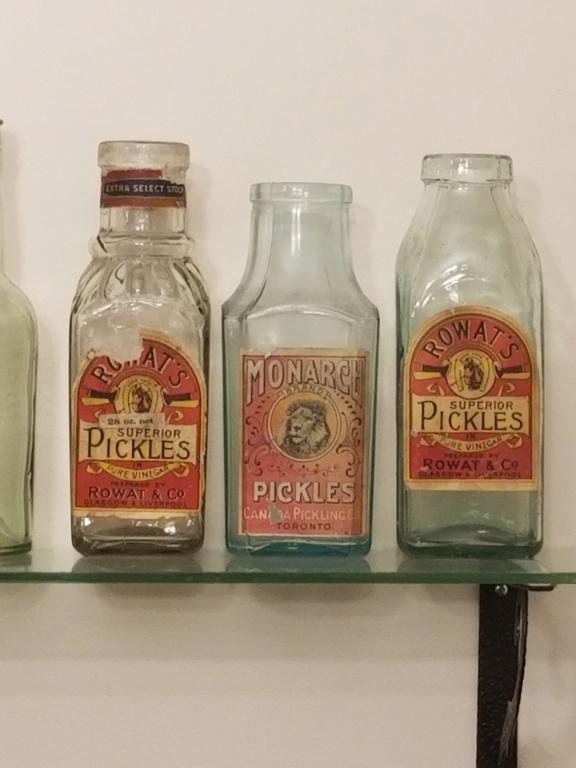 3 pickle jar avec étiquette!! 20190810