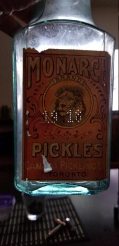 3 pickle jar avec étiquette!! 20190813