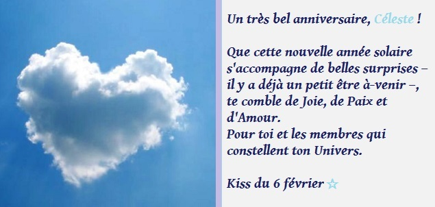 A wonderfull day pour Céleste <3  Czoles12