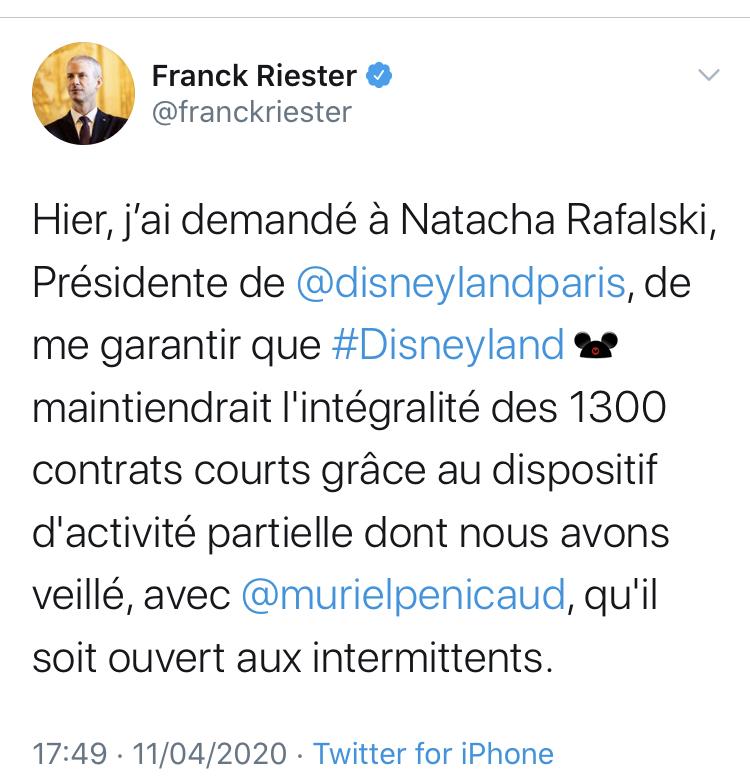 Disneyland Paris et les intermittents : réaction commune des fans ? 1ad05a10