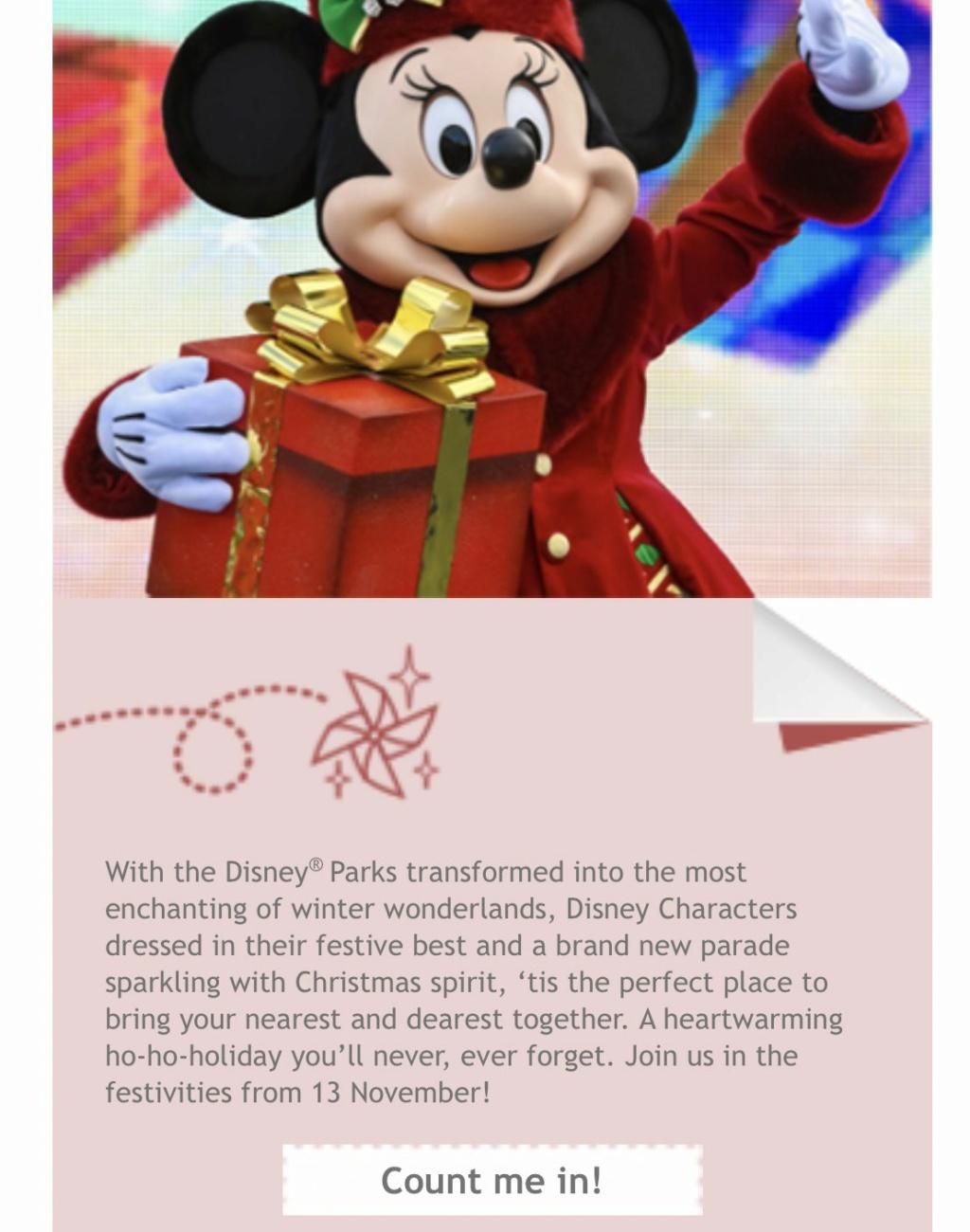 Le Noël Enchanté Disney (du 13 novembre 2021 au 9 janvier 2022) - Page 2 79903610