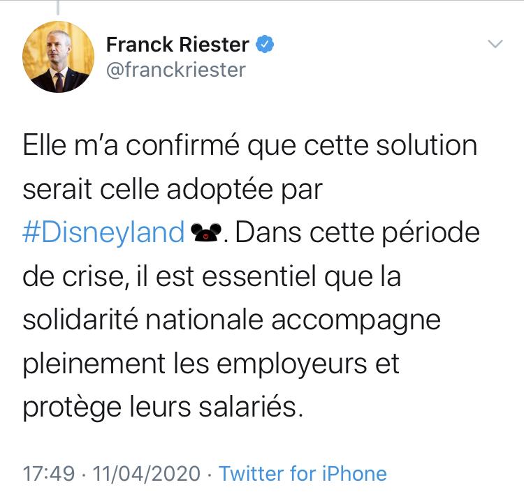 Disneyland Paris et les intermittents : réaction commune des fans ? E0401910