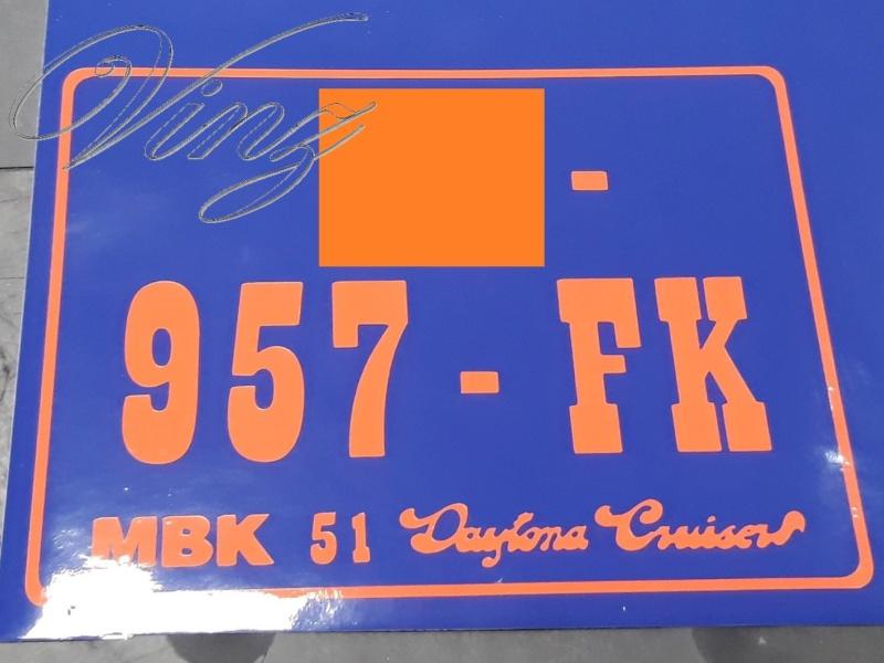 Reconstruction MBK 51 Daytona cruiser 9310
