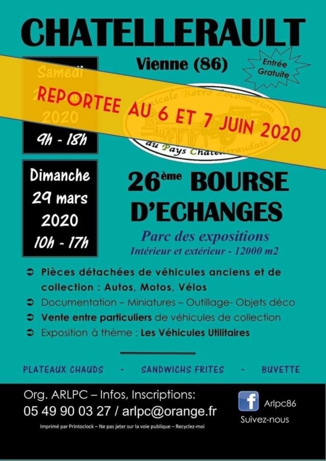 28 et 29 mars 2020 bourse d'échange à Chatellerault 86 ANNULÉE  Receiv11