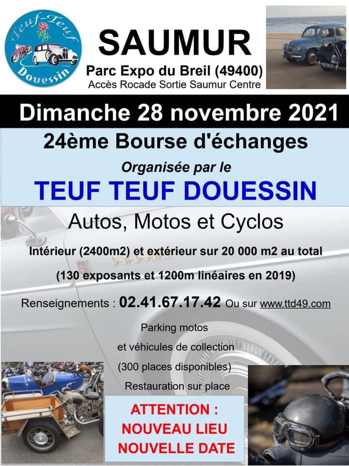 Bourse d'échange à Saumur (49) le 28/11/2021 (ex Doué la fontaine) Saumur10