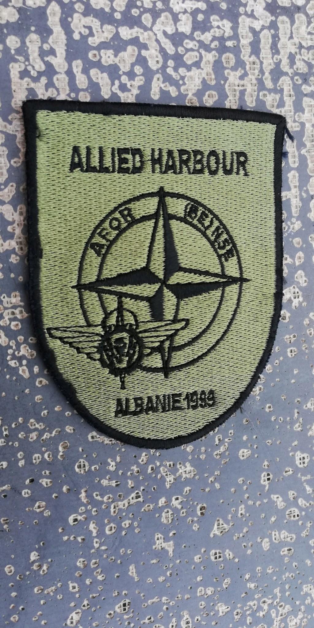 INSIGNES BELGES * MISSION EXTERIEURE OTAN ISAF ONU KFOR ISFOR SFOR ... Img_2288