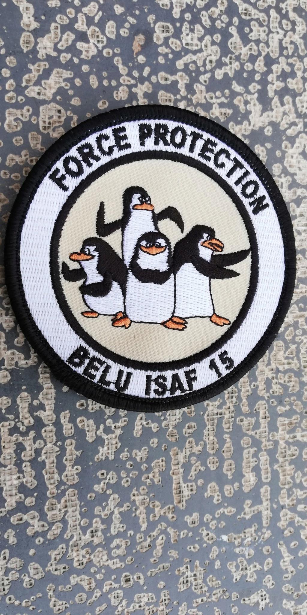 INSIGNES BELGES * MISSION EXTERIEURE OTAN ISAF ONU KFOR ISFOR SFOR ... Img_2302