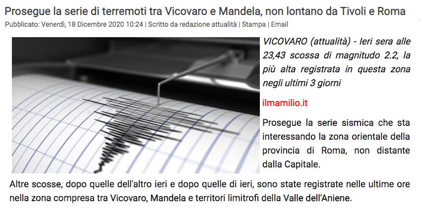 Sciame sismico Vicovaro (RM) Scher138