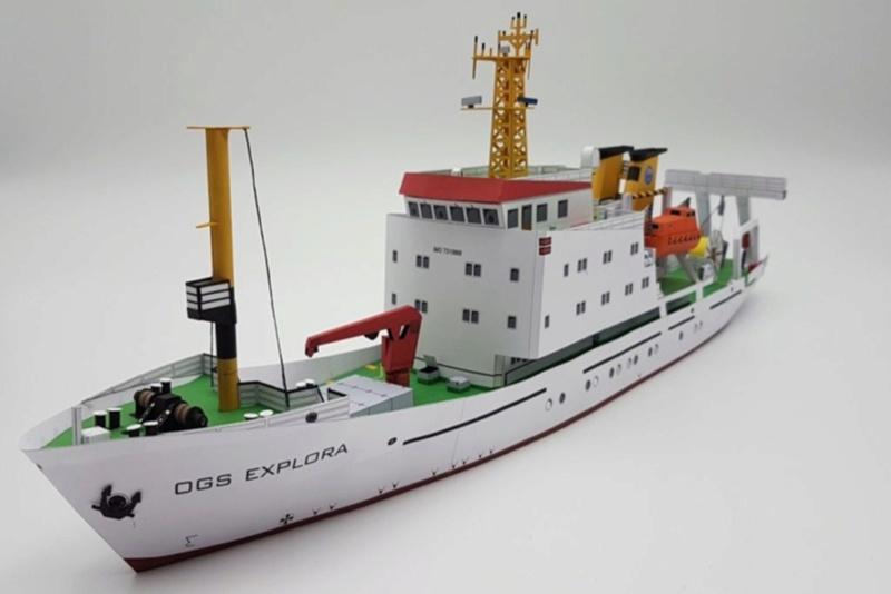 Forschungsschiff OGS  EXPLORA, 1:100  - Seite 5 20190111
