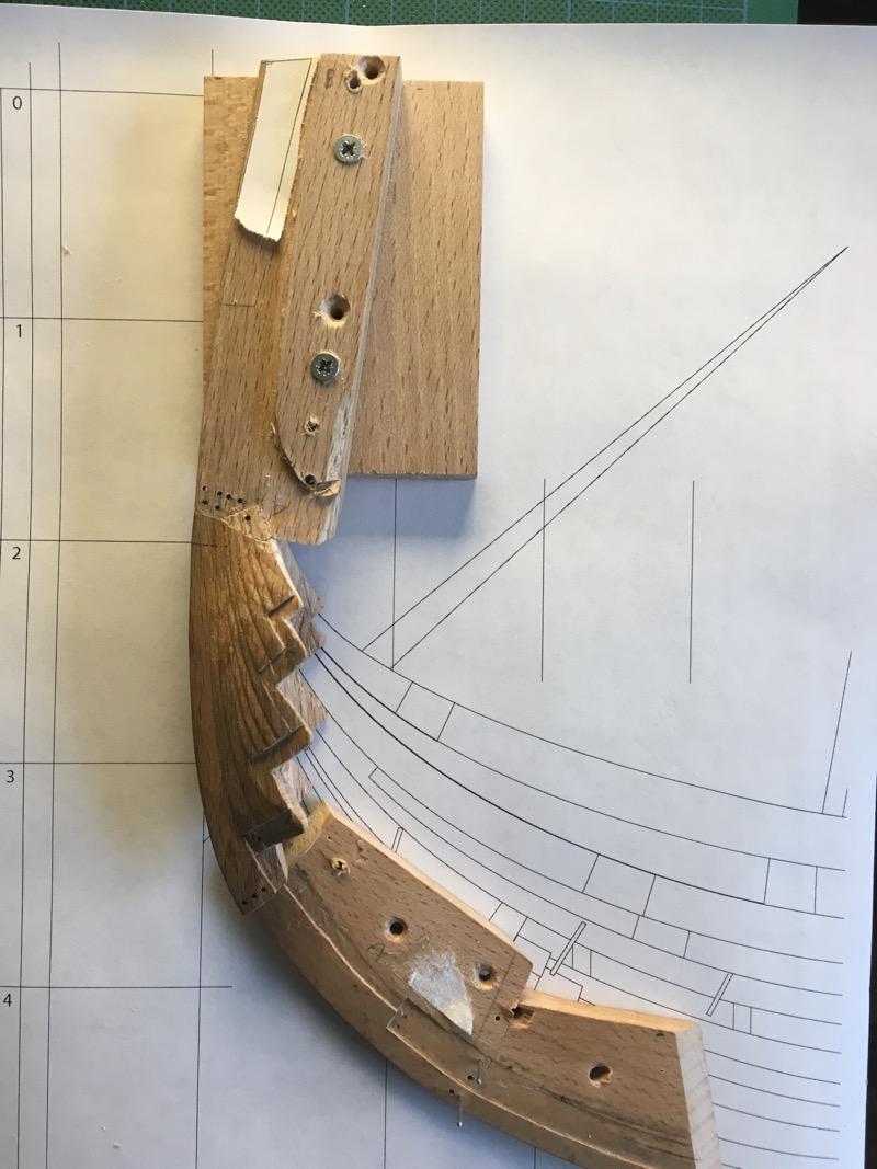 Wikinger-Boot Skuldelev 2 (1:20)  - Seite 11 Steven16