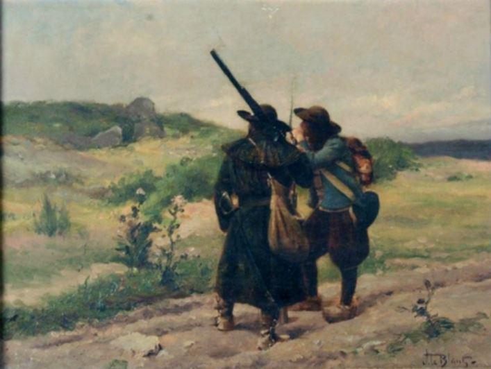 Quiberon, sa côte, ses chouans, ses bastons - Page 23 Chouan12