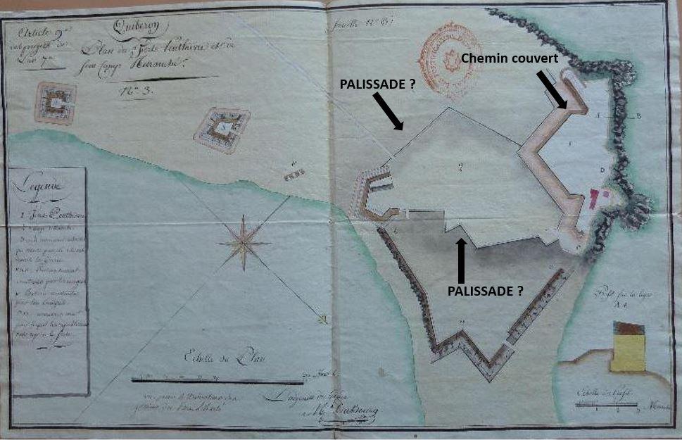 Quiberon, sa côte, ses chouans, ses bastons - Page 9 Fort_210