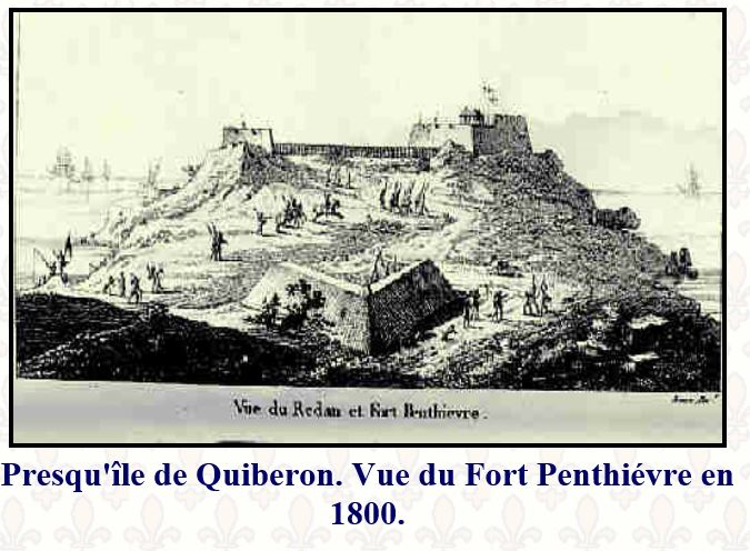 Quiberon, sa côte, ses chouans, ses bastons Fort_p10