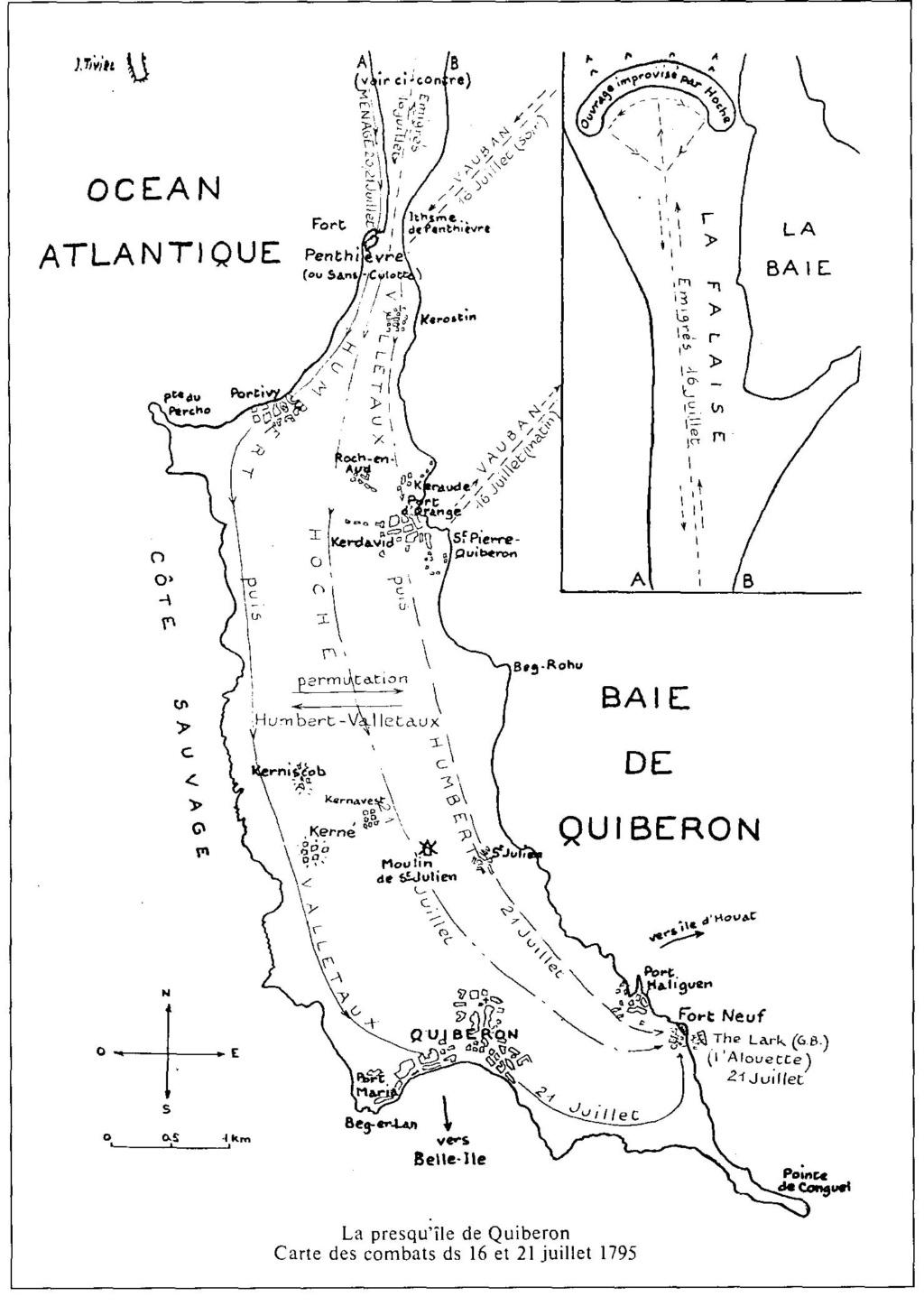 Quiberon, sa côte, ses chouans, ses bastons - Page 2 Plan_q11