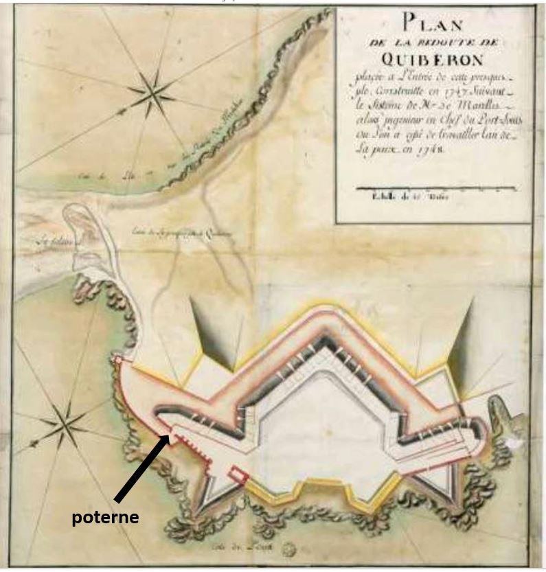 Quiberon, sa côte, ses chouans, ses bastons - Page 9 Potern10