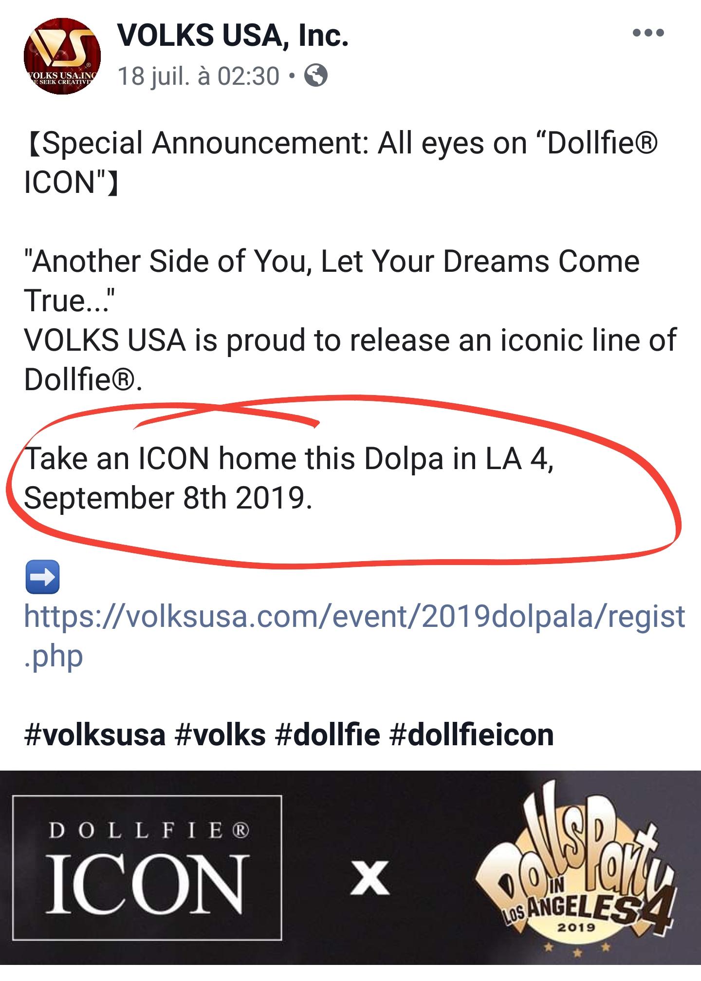 [Volks] Dollfie Icon - Lilac, Clover, Serra, Terra - Page 2 20190710