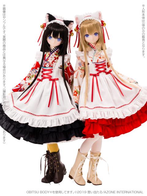 [Azone] 1/3 Ellen Time of eternal VI Taisho Roman White Cat Rondo / Alice Time of grace IV Taisho Roman Black cat Rondo  45731937