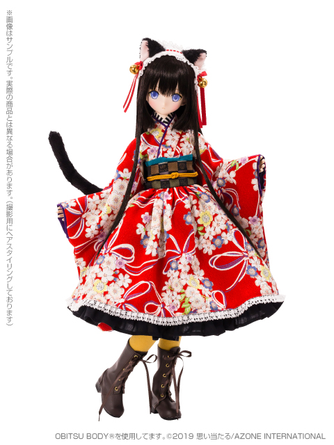 [Azone] 1/3 Ellen Time of eternal VI Taisho Roman White Cat Rondo / Alice Time of grace IV Taisho Roman Black cat Rondo  45731941