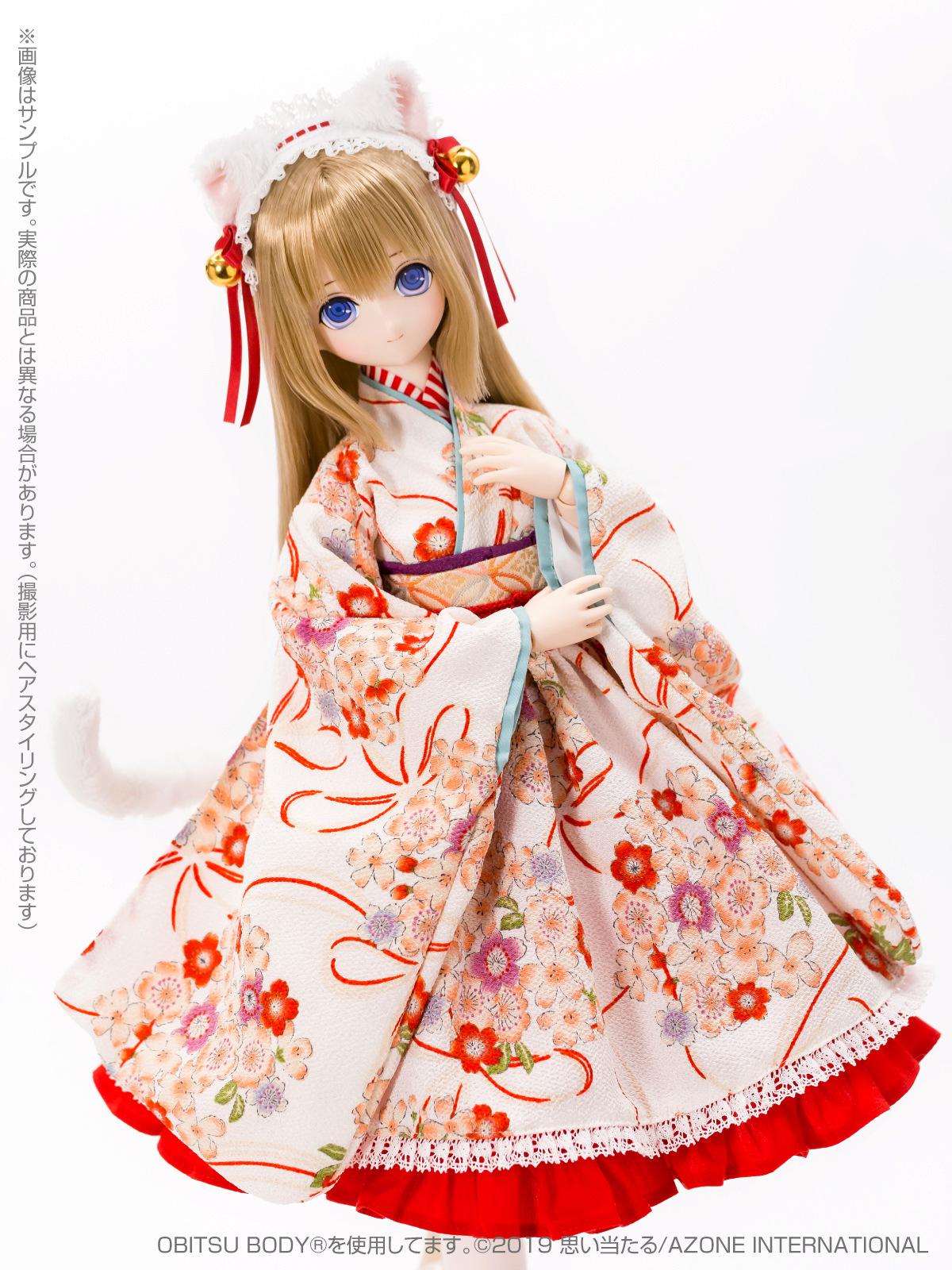 [Azone] 1/3 Ellen Time of eternal VI Taisho Roman White Cat Rondo / Alice Time of grace IV Taisho Roman Black cat Rondo  45731944