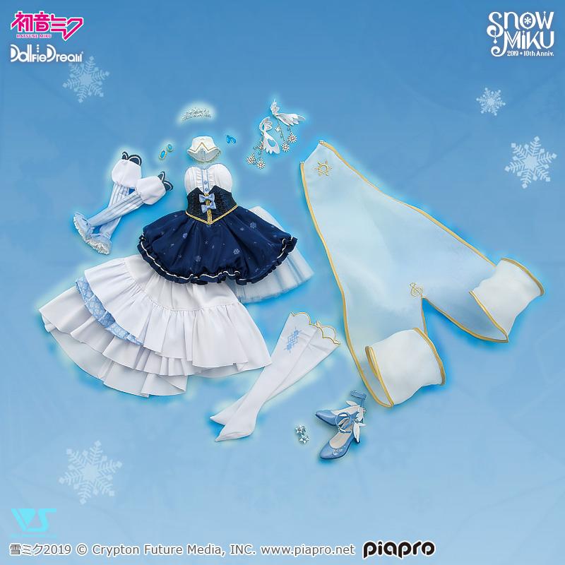 [Dollfie Dream] Hatsune Miku Snow Princess set Drs_mi11