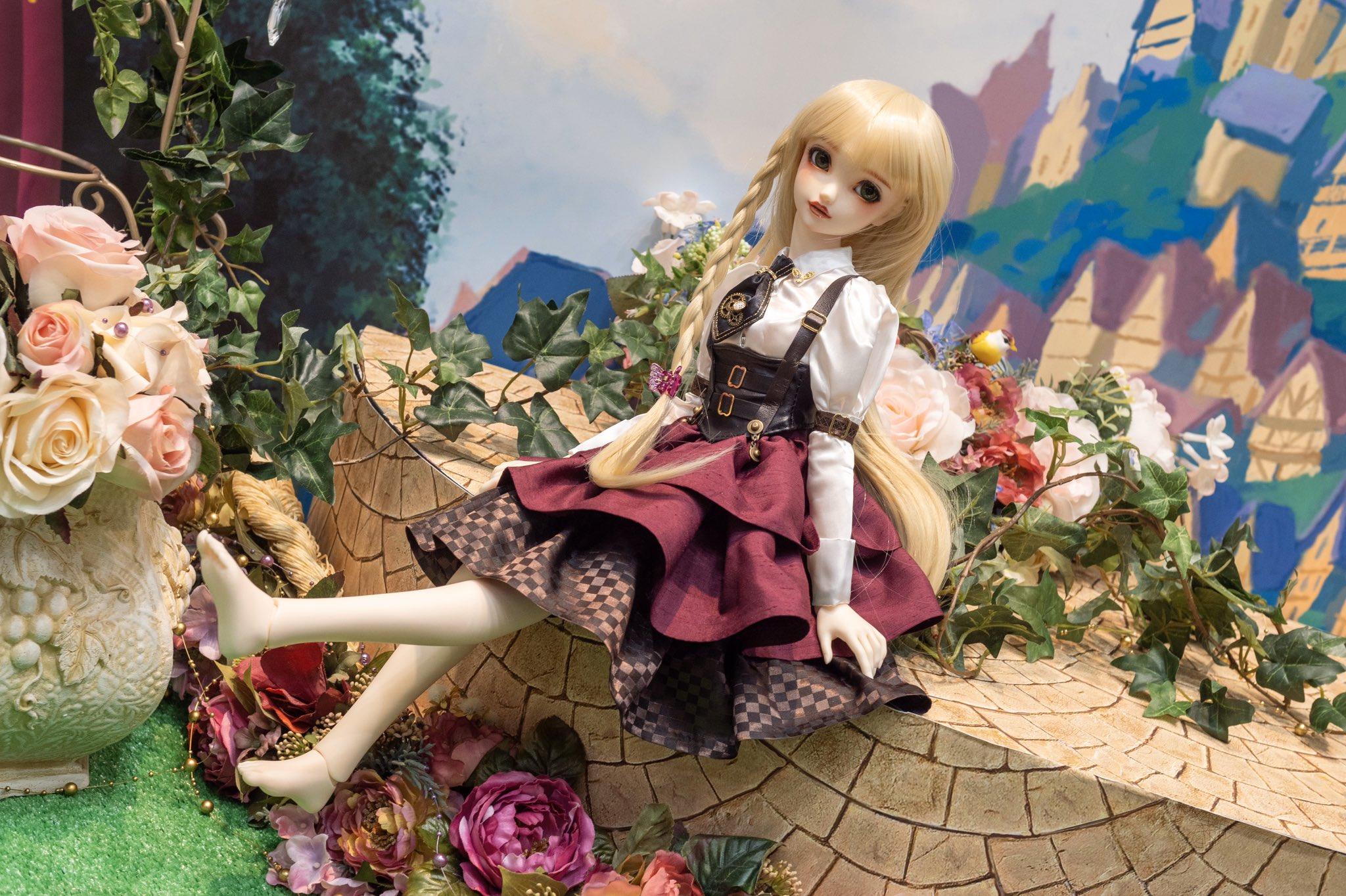 [Super Dollfie X Disney] Princess Collection Rapunzel  Elunyb12