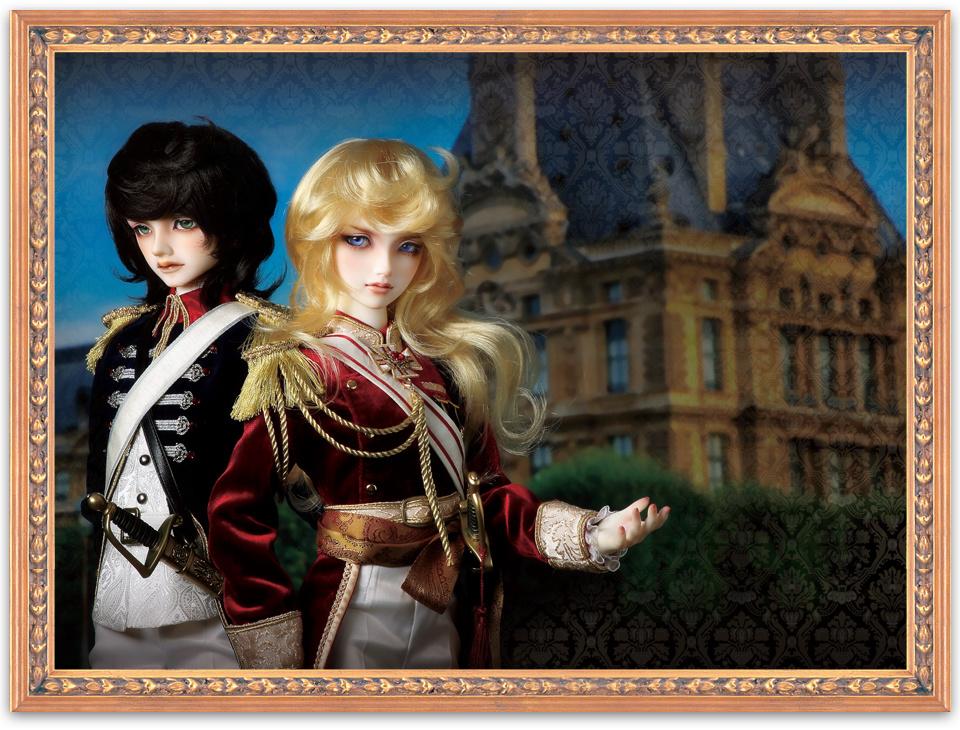 [Super Dollfie] La Rose de Versailles - Lady Oscar & André Kikaku10