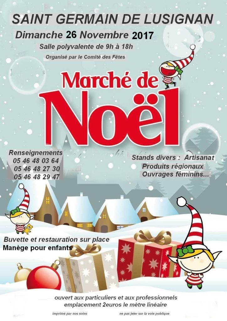 Marché de noel  Affich10