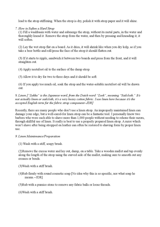 Iwasaki et Naomi, leurs conseils - Page 2 Honing18