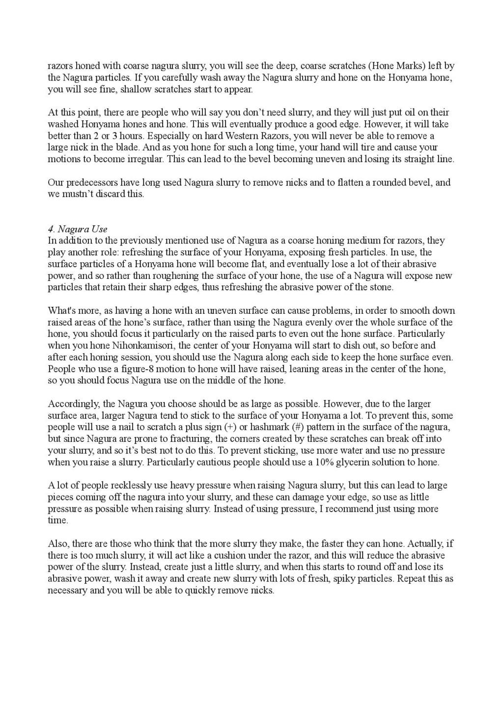 Iwasaki et Naomi, leurs conseils - Page 2 Honing21