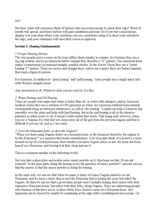 Iwasaki et Naomi, leurs conseils - Page 2 Honing22