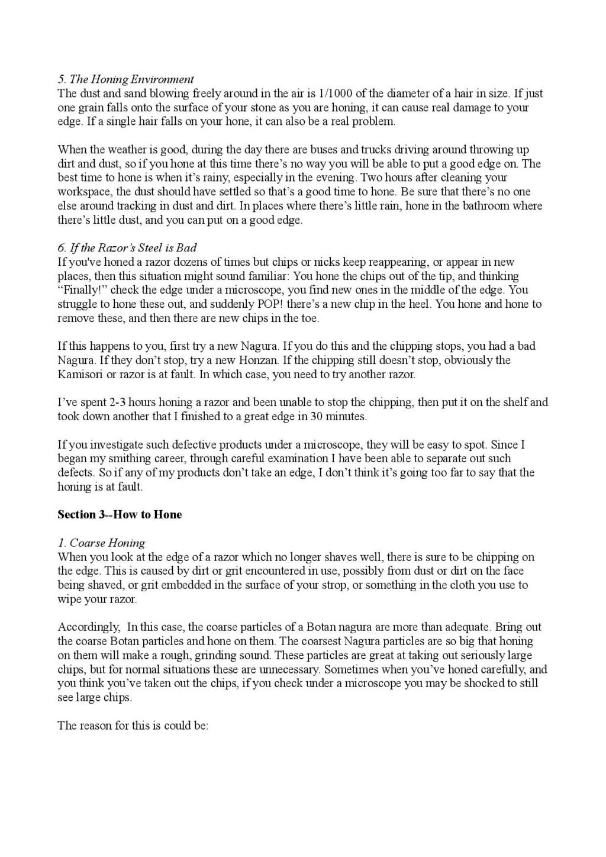 Iwasaki et Naomi, leurs conseils - Page 2 Honing23