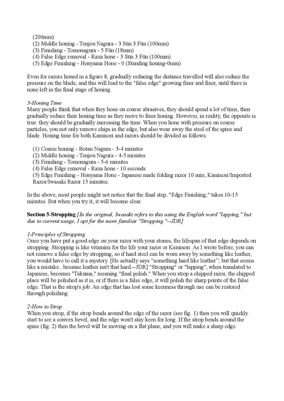 Iwasaki et Naomi, leurs conseils - Page 2 Honing27