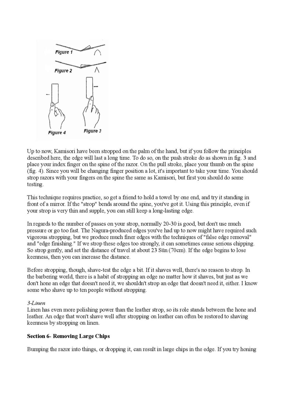 Iwasaki et Naomi, leurs conseils - Page 2 Honing28