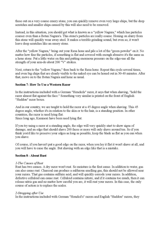 Iwasaki et Naomi, leurs conseils - Page 2 Honing29