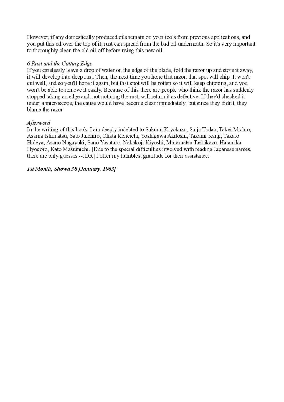Iwasaki et Naomi, leurs conseils - Page 2 Honing30