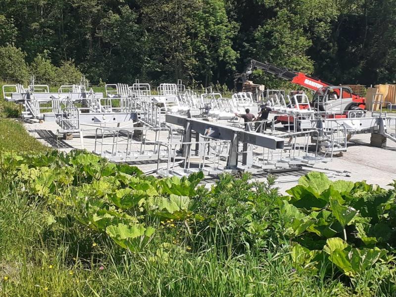 Construction Télécabine débrayable 10 places (TCD10) du Bois - Arêches 10032310